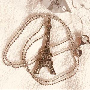 Judith Jack 925 Silver Eiffel Tower necklace